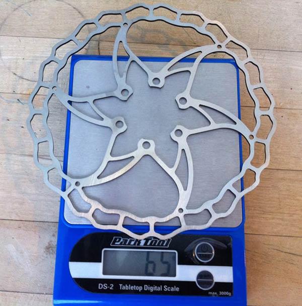 Nuevos discos de freno ultraligeros de Ashima para 2012: Primer contacto