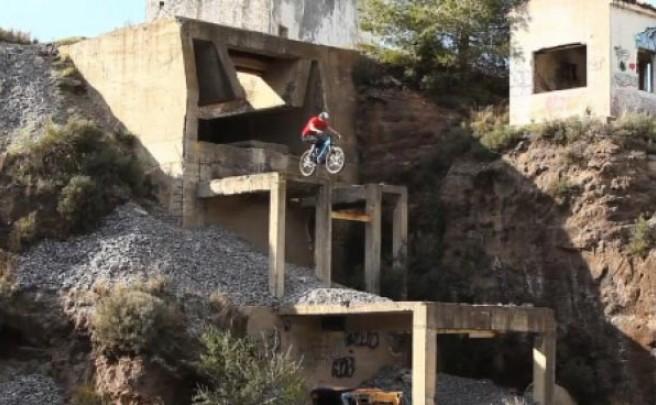 Chris Akrigg. Otro biker de espectacular técnica