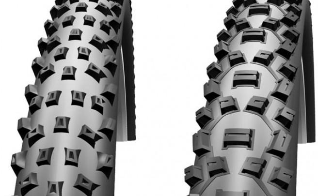 Todas las cubiertas para bicicletas de montaña de 2013 de Maxxis, Geax, Continental, Schwalbe, Hutchinson y Kenda