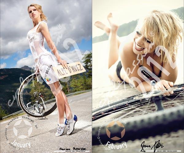 Calendario CyclePassion 2012. Todas las fotos y vídeos del calendario más sensual del ciclismo