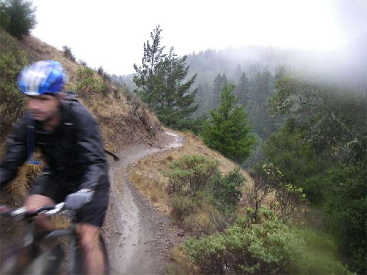 Algunos consejos para practicar Mountain Bike (si lo haces) bajo la lluvia