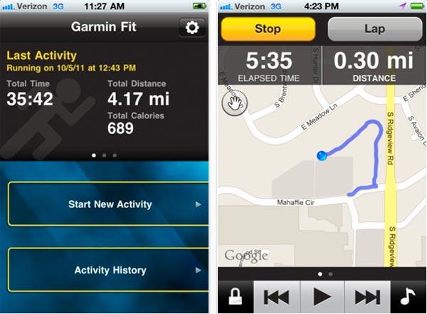 Nueva aplicación de Garmin para transformar tu iPhone o teléfono Android en un completo ordenador deportivo