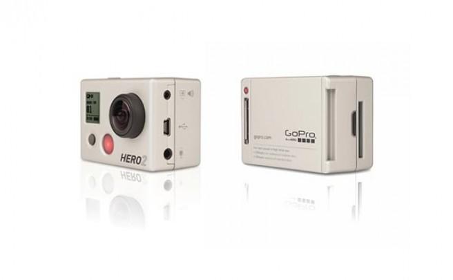 Nueva GoPro Hero2 HD. Ahora con Wifi, sensor y lente más grandes y un procesador el doble de rápido