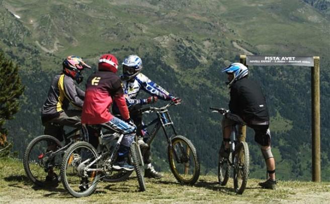 Grandvalira Bike Park. El Bike Park más grande de los Pirineos