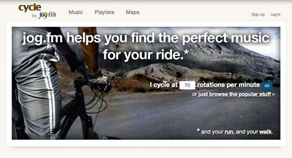 Jog.fm: Música a ritmo de tus pulsaciones por minuto