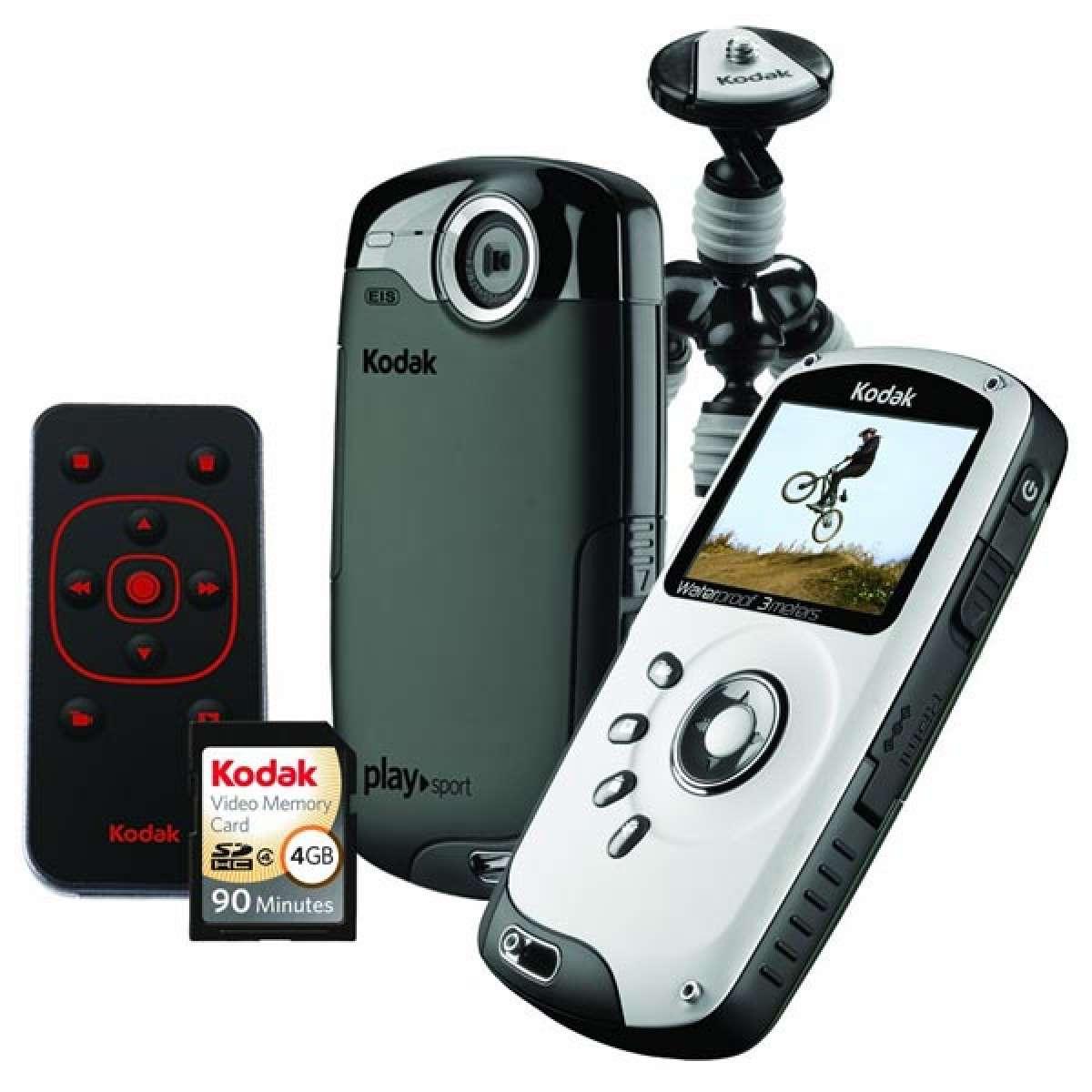 Kodak PlaySport Burton Edition. Una cámara de video para deportistas de montaña