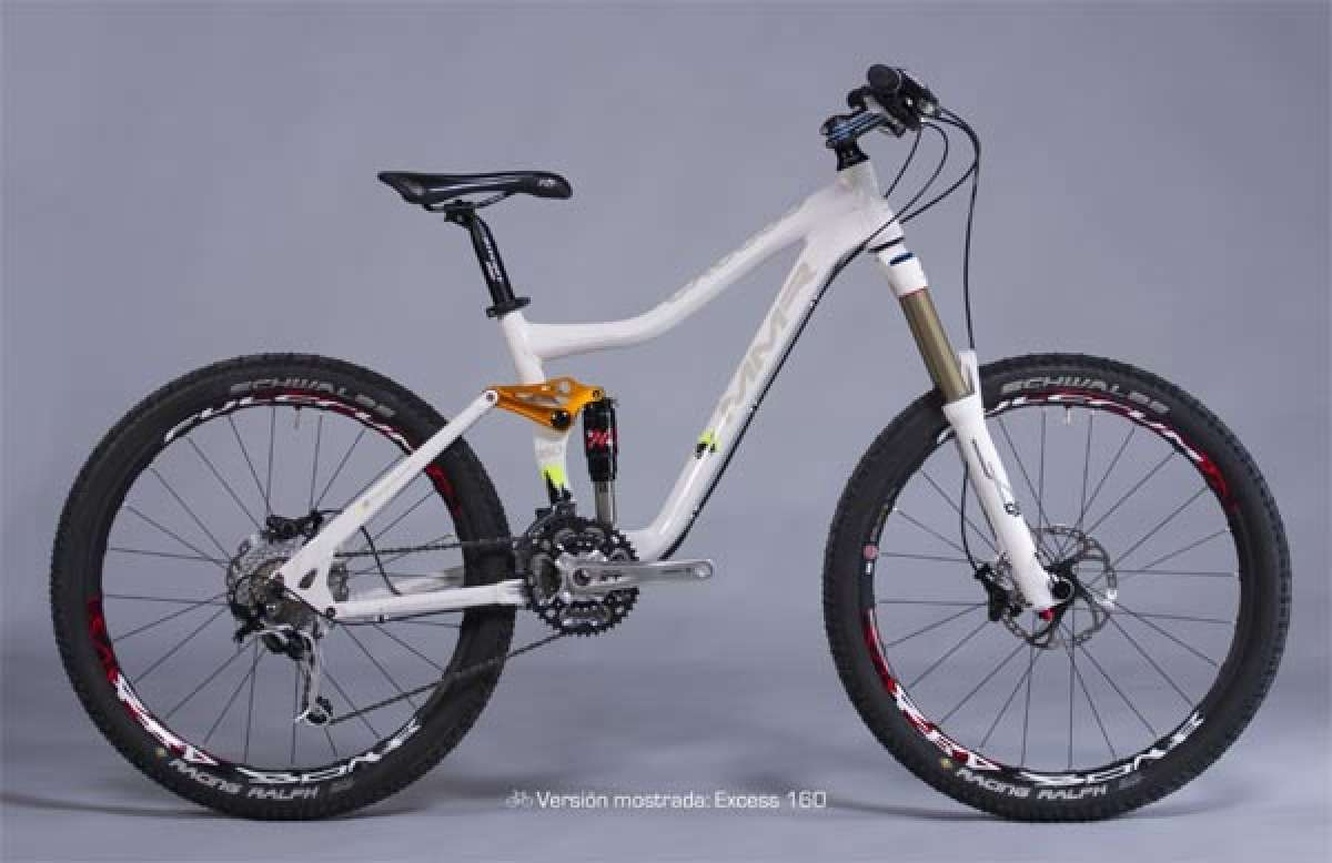 MMR Excess 2011. Una bicicleta de doble suspensión sin límites