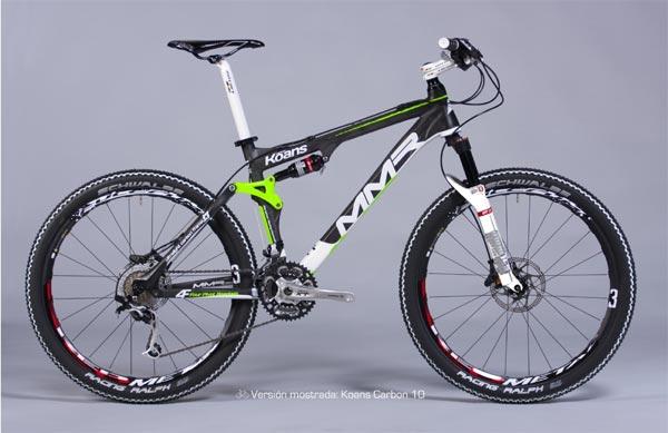 MMR Koans Carbon 2011. Doble suspensión de competición