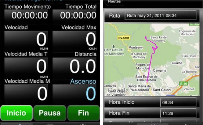 Mountain Angel: Una aplicación de iPhone para vigilar tus salidas en bicicleta