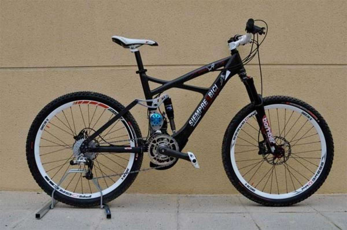 Mountain Wolf. La primera bicicleta eléctrica de montaña