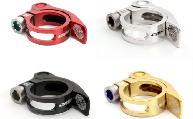 Cierres rápidos Ergo de MSC Bikes. Tijas sujetas con estilo