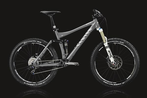 Canyon Nerve AM 2011. ¿Subes o bajas?