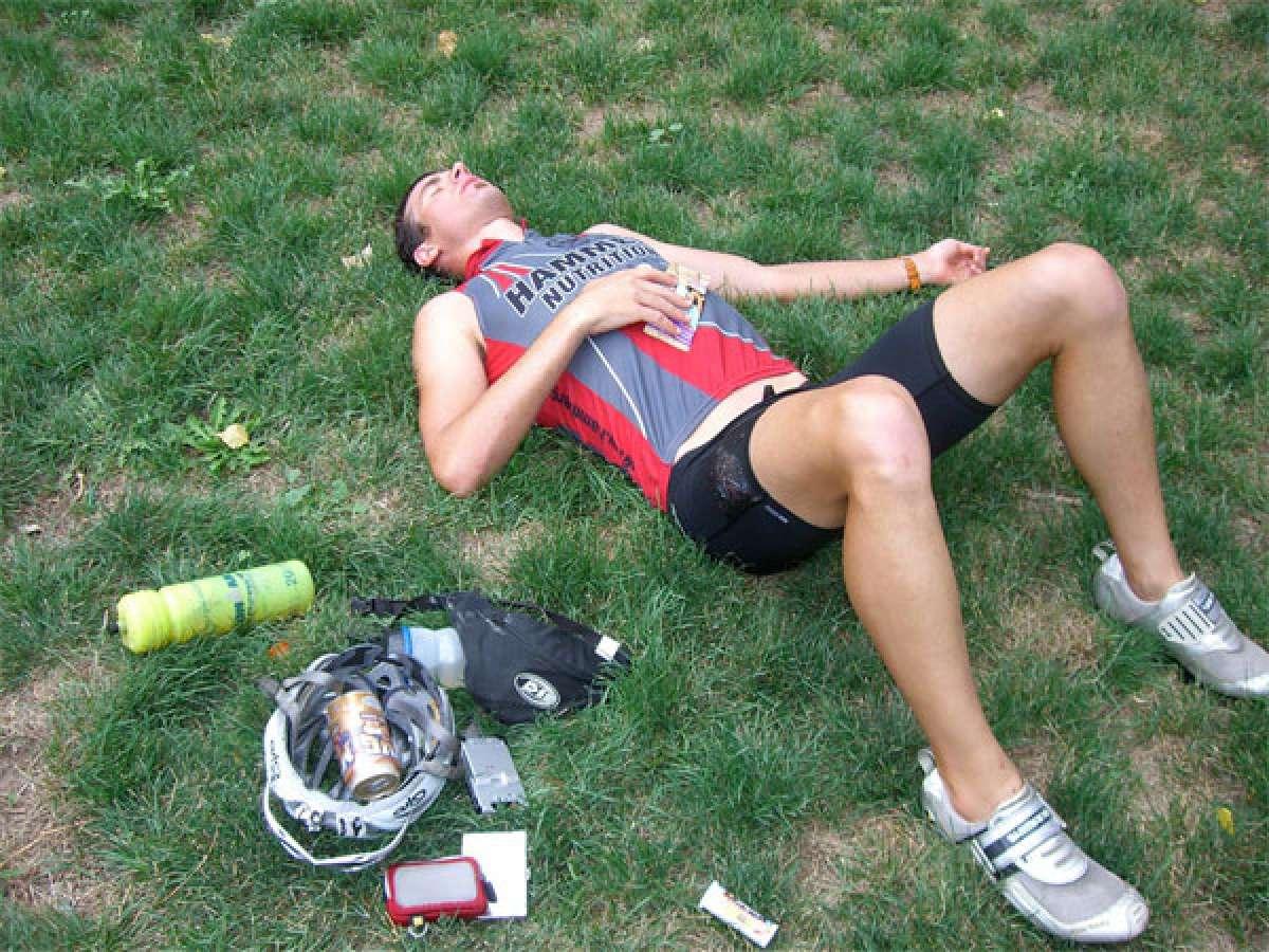 Algunos signos de sobreentrenamiento en Mountain Bike