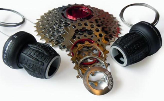 Mandos giratorios Recon compatibles con SRAM y Shimano Dynasys de 10 velocidades