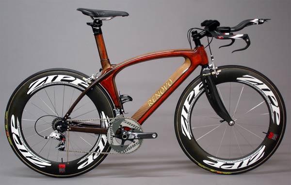 Renovo Bicycles. Impresionantes bicicletas de montaña y carretera fabricadas en madera