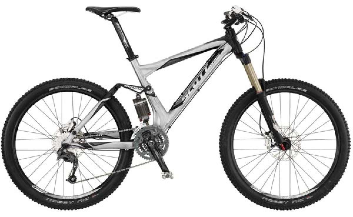 Scott Genius 2011. Geniales bicicletas de doble suspensión