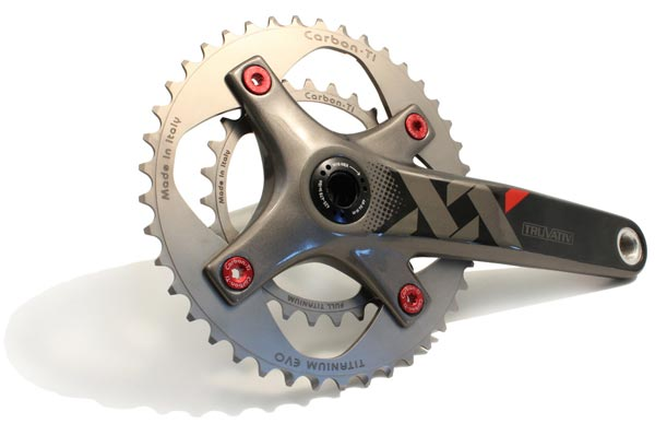 Platos X-Ring EVO de Carbon-Ti para Mountain Bike
