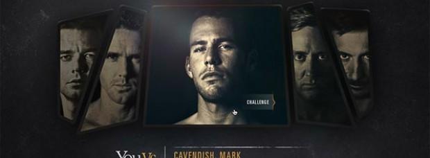 Espectacular campaña de Oakley: You Vs. Mark Cavendish