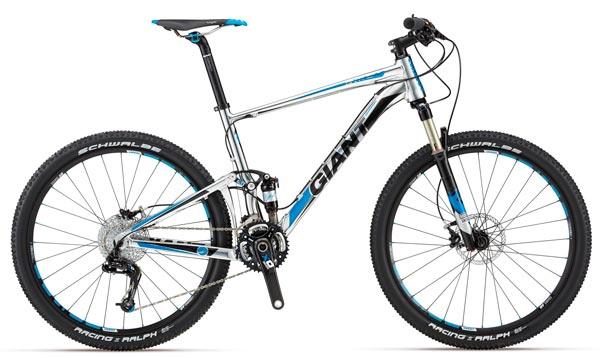 Giant Anthem X de 2012. Una bicicleta de doble suspensión para ganar carreras... y divertirse también