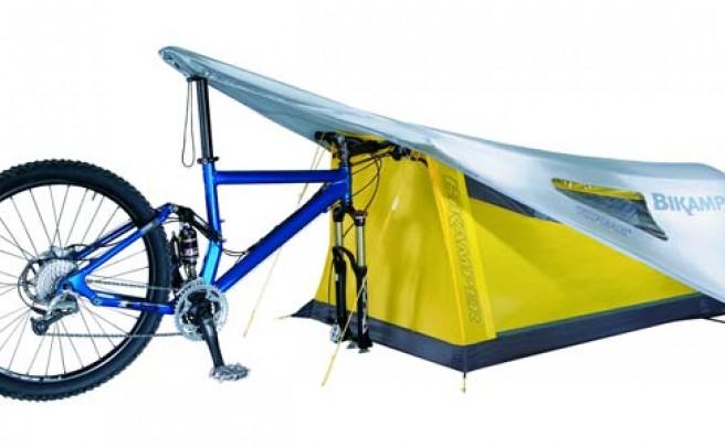 Topeak Bikamper. Una tienda de campaña portátil para alargar nuestras travesías en bicicleta