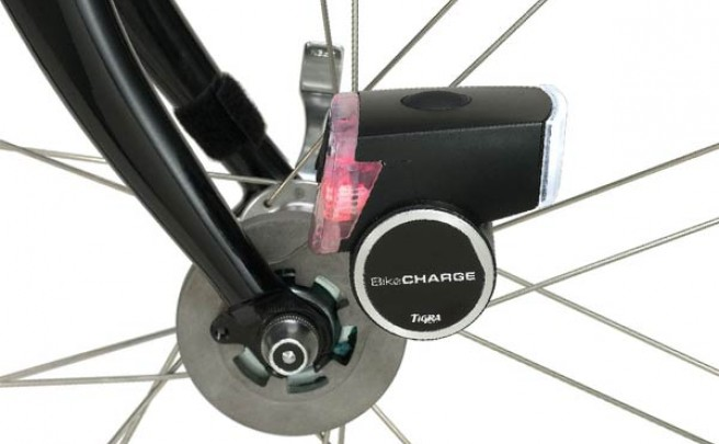 BikeCharge. Una dinamo de última generación para bicicletas con cargador universal USB incluido