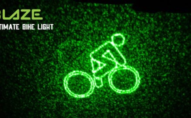 Blaze Bike Light, un dispositivo muy práctico para aumentar la seguridad de los ciclistas nocturnos