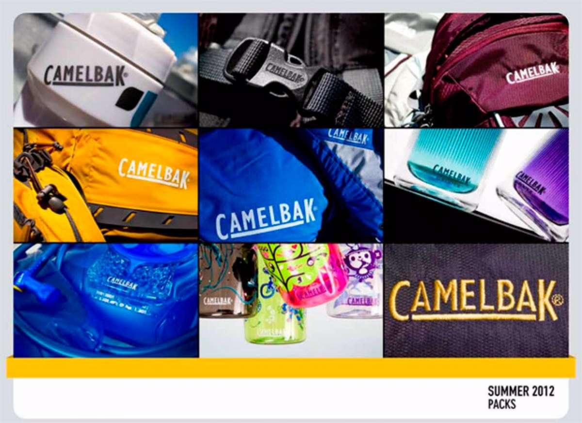 Catálogo de Camelbak 2012. La hidratación según Camelbak para 2012