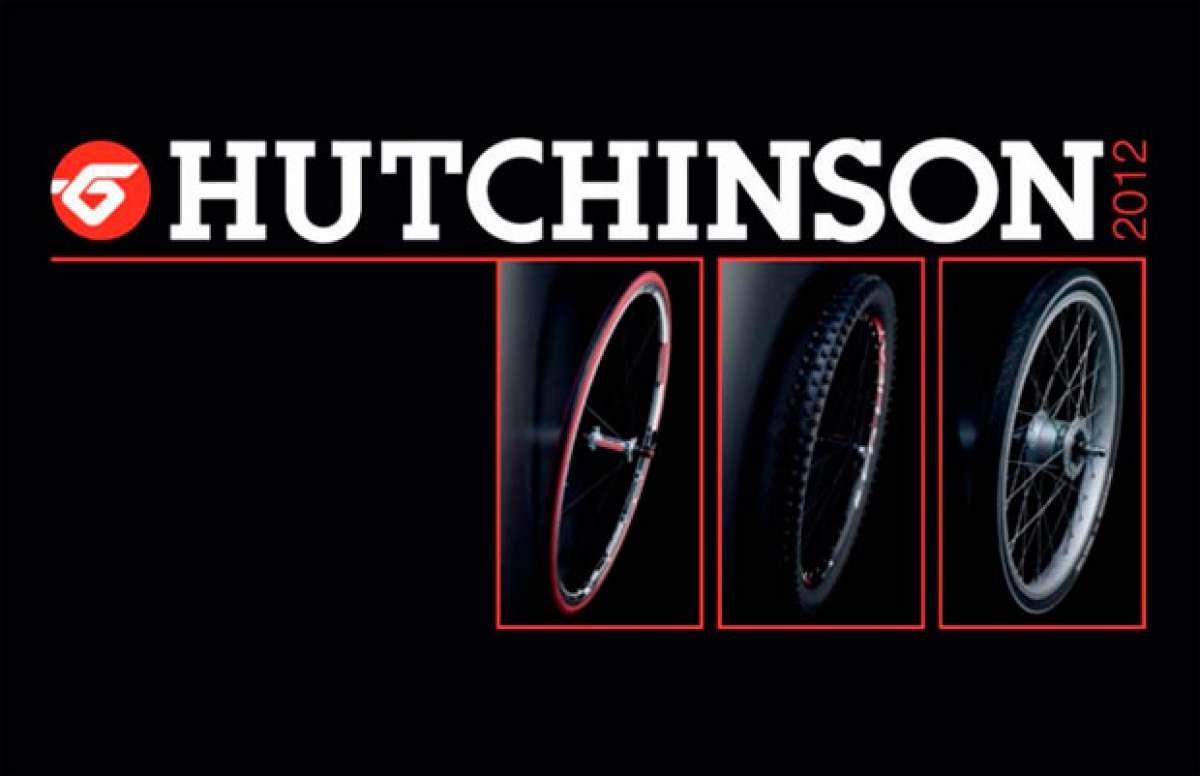 Catálogo de Hutchinson 2012. Todas la gama de neumáticos Hutchinson para la temporada 2012