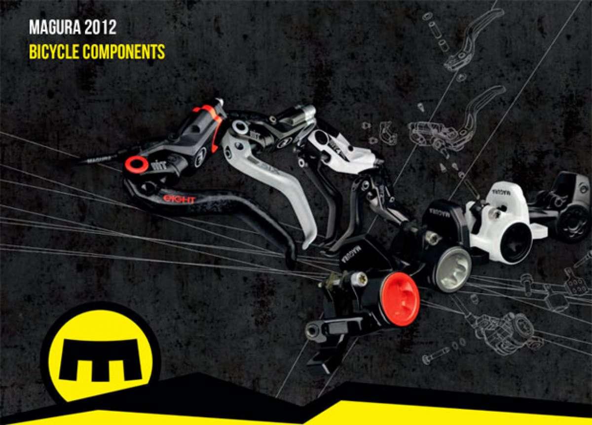Catálogo de Magura 2012. Toda la gama de componentes Magura para 2012