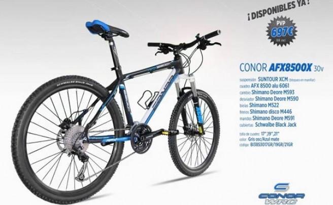 Una nueva Conor AFX 8500X de 30 velocidades para la entrada de gama del fabricante