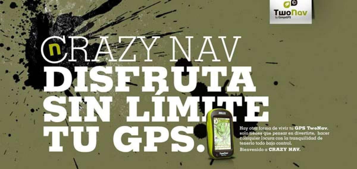 "Diferente e impactante: La sorprendente campaña publicitaria ""Crazy Nav"" de CompeGPS"