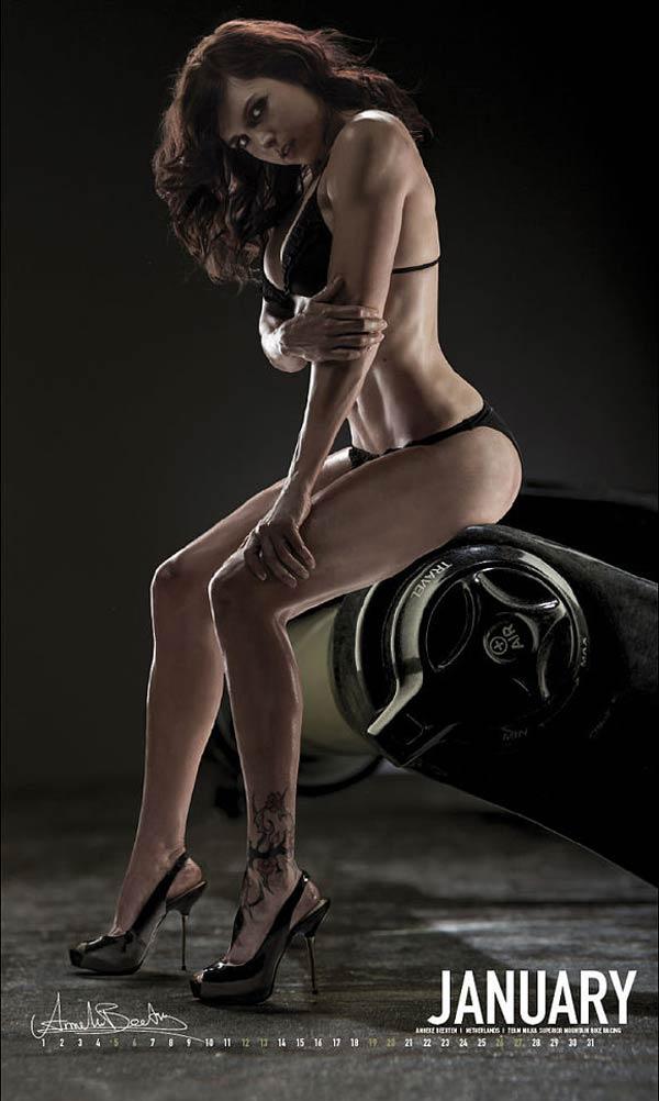 Calendario CyclePassion 2013. Todas las imágenes del calendario más sensual del ciclismo