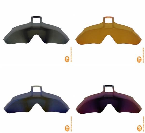 Dux Helm lanza el primer casco para ciclistas con gafas retráctiles (y reemplazables) incorporadas