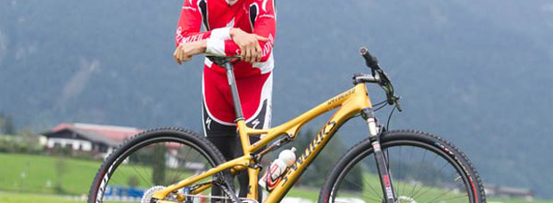 La nueva Specialized Epic S-Works 29er de Jaroslav Kulhavy en color oro olímpico, con edición limitada disponible