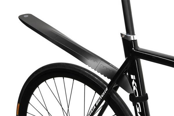 Fendor-Bendor 3, un práctico guardabarros portátil (y plegable) para nuestra bicicleta de montaña