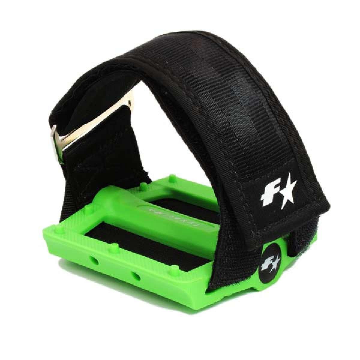 Fyxation Gates Slim, un nuevo pedal ultraplano estilo BMX con correas calapies opcionales