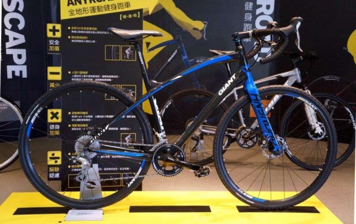"""Giant Anyroad, la nueva y más que bonita bicicleta """"todocamino"""" de Giant lanzada en el mercado asiático"""