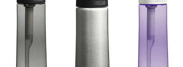 Camelbak Groove. Un bidón de hidratación con filtro depurativo incorporado
