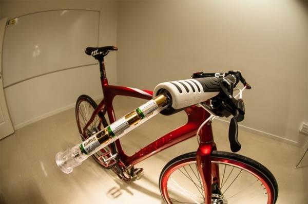 Innos LED, un manillar para bicicletas de montaña con luces LEDs integradas