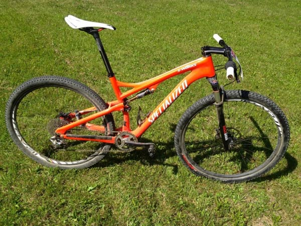 La bicicleta ganadora de Jaroslav Kulhavy, campeón olímpico en los Juegos de Londres 2012