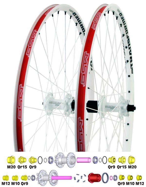 Nuevas ruedas MSC Transformer. Las ruedas más polivalentes de MSC Bikes