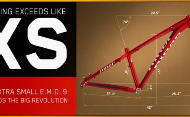 Niner lanza al mercado su primera 29er con talla extra pequeña (XS) en su modelo E.M.D. 9