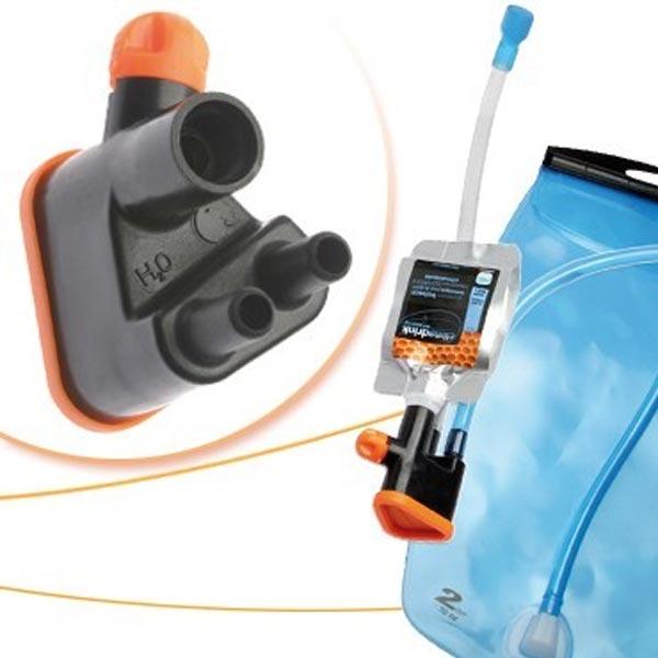 Kit Sports´n Go de Oxsitis. Un mezclador de bebida deportiva para nuestra mochila de hidratación