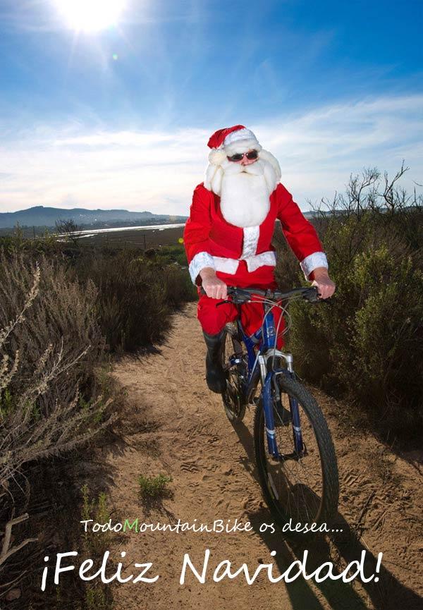 TodoMountainBike os desea unas Felices Fiestas y... ¡¡¡Feliz Navidad!!!