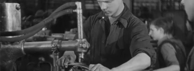 Cómo se fabricaba una bicicleta allá por el año 1945