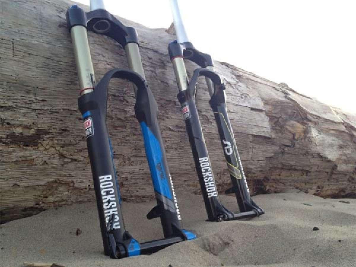 Nuevos diseños y gráficos para las suspensiones de la gama 2013 de RockShox