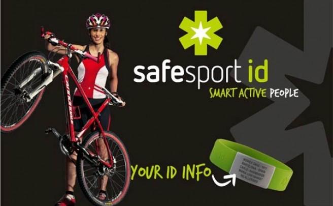 SafesportID, las pulseras personalizables identificativas más prácticas para deportistas inquietos/as