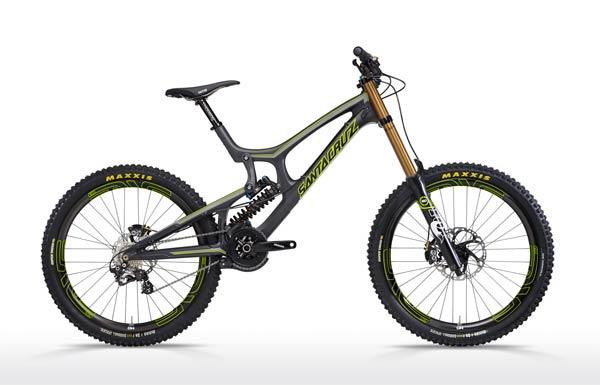 Nueva Santa Cruz V10C de carbono, la máquina definitiva para entusiastas del descenso