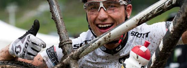 La Scott Scale RC 650B de Nino Schurter, campeón del mundo en XC y medalla de plata olímpica en Londres 2012