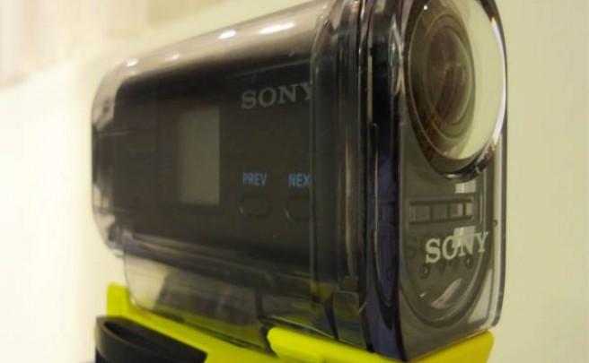 La próxima cámara de video deportiva de Sony: Primer contacto